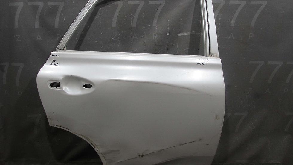 Lexus RX 3 Дверь задняя правая Б/у Оригинал