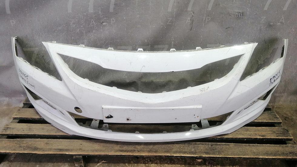 Бампер передний Hyundai Solaris 1 (14-17)  Б/У Оригинал