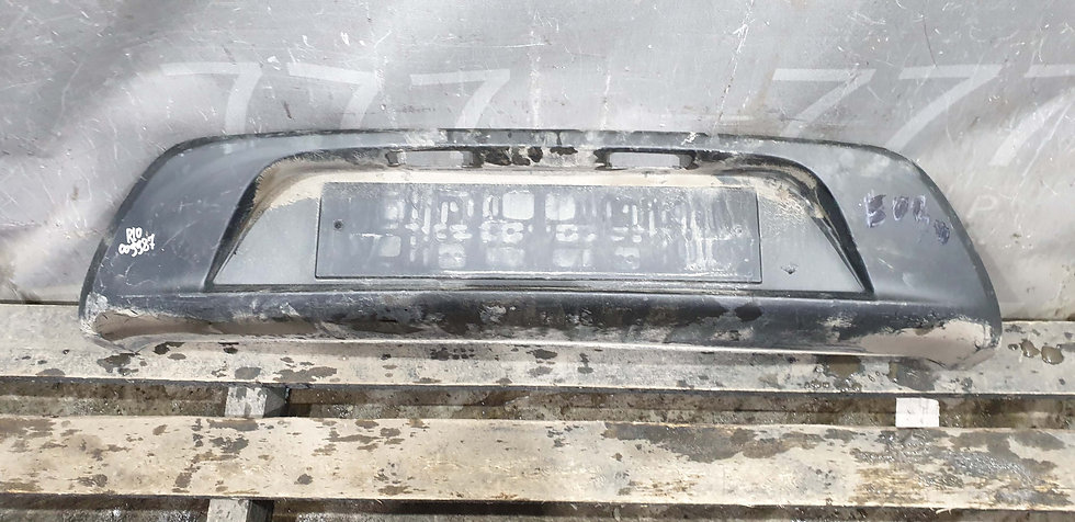 Kia Rio 4 (FB) 17- Накладка заднего бампера Б/у Оригинал