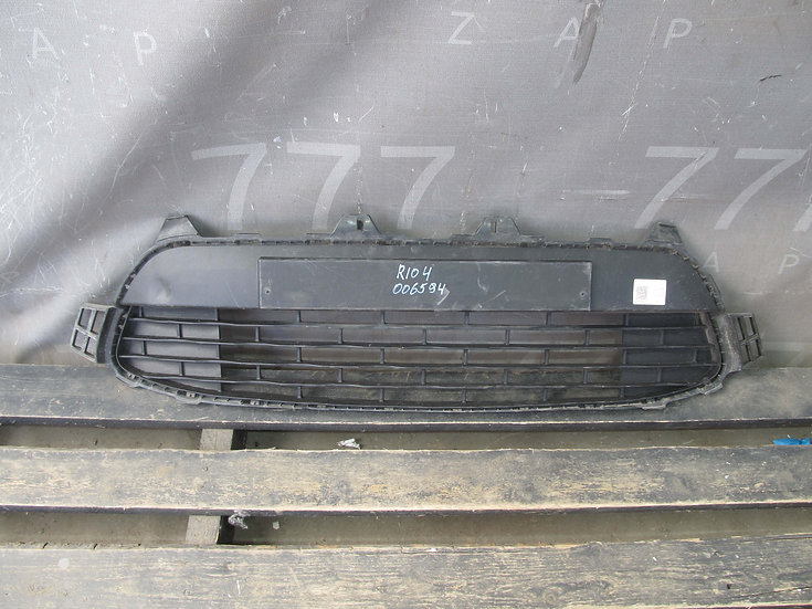 Kia Rio 4 (FB) 17- Решетка бампера целая Б/у Оригинал