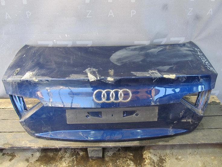 Audi A4 (B8) 07-11 Крышка багажника  Б/у Оригинал
