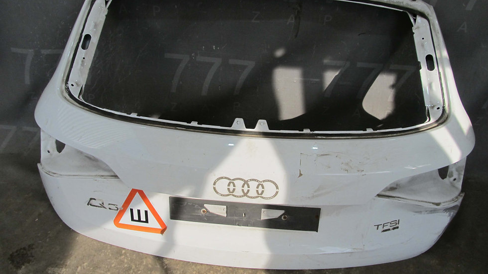Audi Q5 (08-17) Крышка багажника Б/у Оригинал