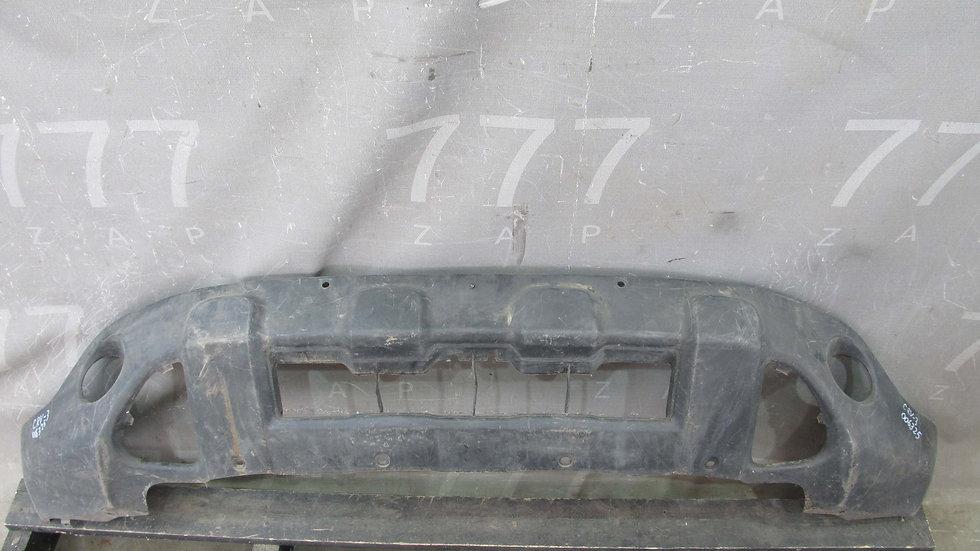 Honda CR-V 3 (07-12) Накладка переднего бампера Б/у Оригинал