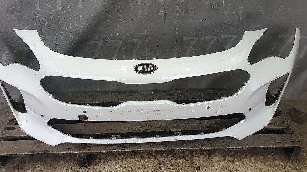 Бампер передний Kia Stinger (CK) 17- Б/у Оригинал