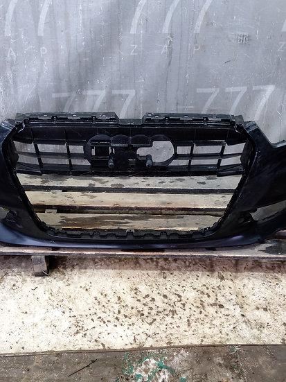 Audi A6 C7 4G Бампер передний S-line оригинал