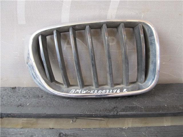 BMW X3 (F25) Решетка радиатора правая  Б/у Оригинал