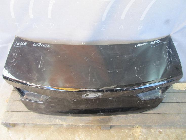 Kia Optima 4 (JF) Крышка багажника  Б/у Оригинал