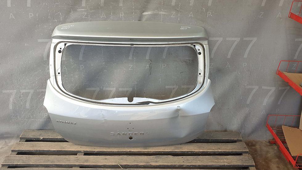Renault Sandero 2 Крышка багажника Б/У Оригинал