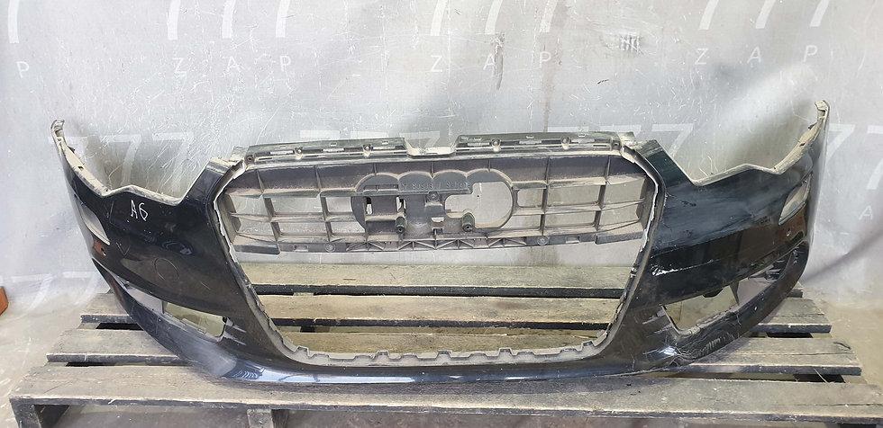 Audi A6 (C7) 14-18 Бампер передний S-Line Б/у Оригинал