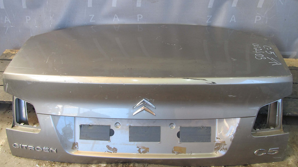 Citroen  C5 2 Крышка багажника  Б/у Оригинал