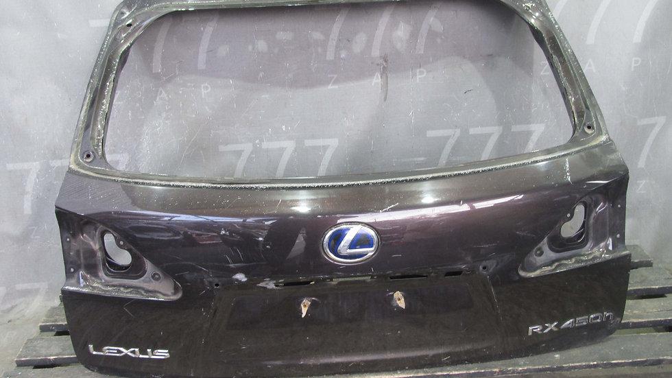 Lexus RX 3 270/350/450H Крышка багажника Б/у Оригинал