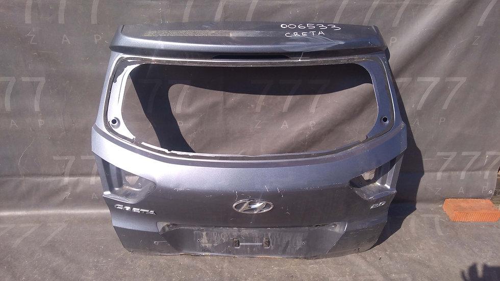 Hyundai Creta (GS) 16- Крышка багажника Б/у Оригинал