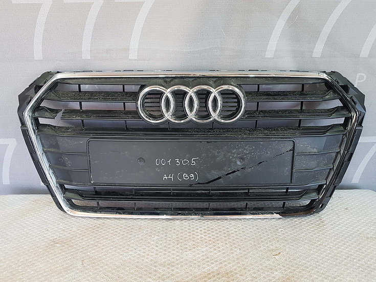 Audi A4 (B9) 15- Решетка радиатора Б/у Оригинал