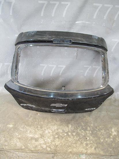 Chevrolet Cruze (J300) 09-15 Крышка багажника Б/у Оригинал