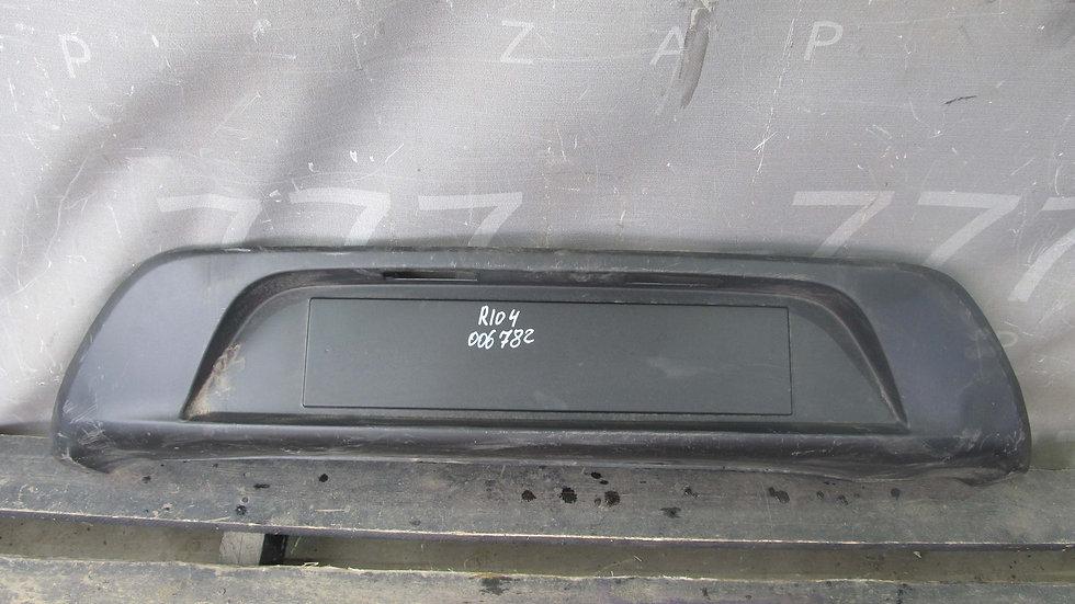 Kia Rio 4 FB 17г- Накладка заднего бампера