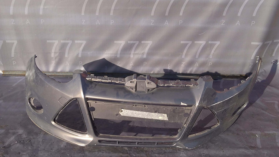 Ford Focus 3 (11-15) Бампер передний Б/у Оригинал