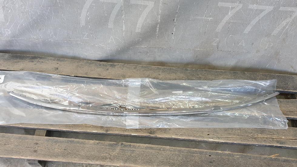 Накладка бампера хром Citroen C4 2 sedan  Новое Оригинал