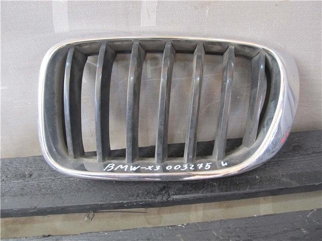 BMW X3 (F25) Решетка радиатора левая Б/у Оригинал