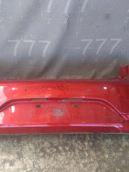 Kia Rio 3 (QB) Бампер задний Б/у Оригинал