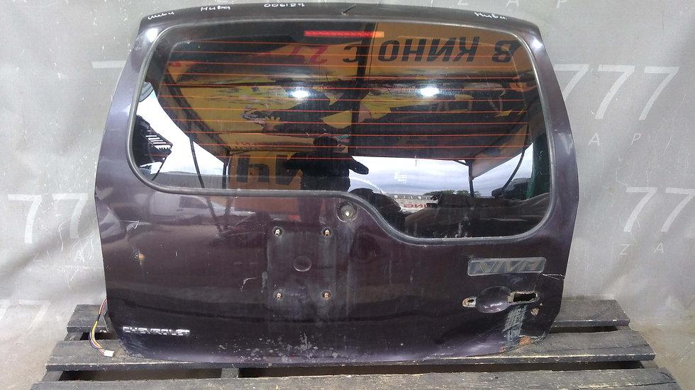 Chevrolet Niva (02-19) Крышка багажника  Б/у Оригинал