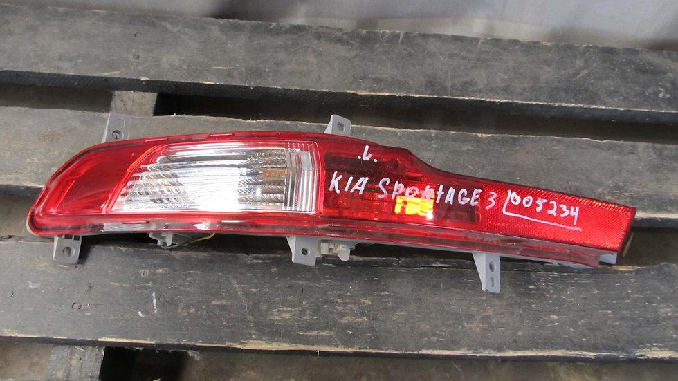 Kia Sportage 3 (SL) ПТФ задний левый Б/у Оригинал