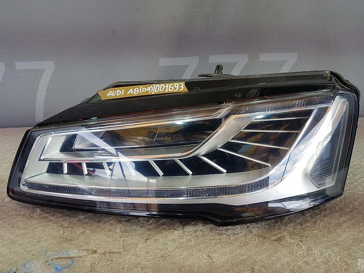 Audi A8 D4 Фара передняя левая рест. Без дефектов
