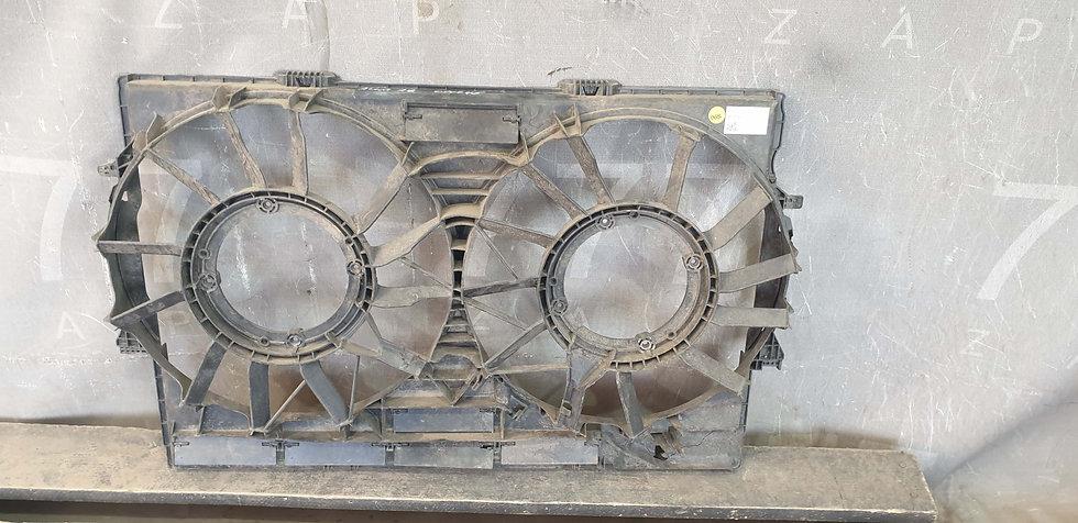 Audi A8 (4H) 12- Диффузор вентилятора радиатора Б/у Оригинал