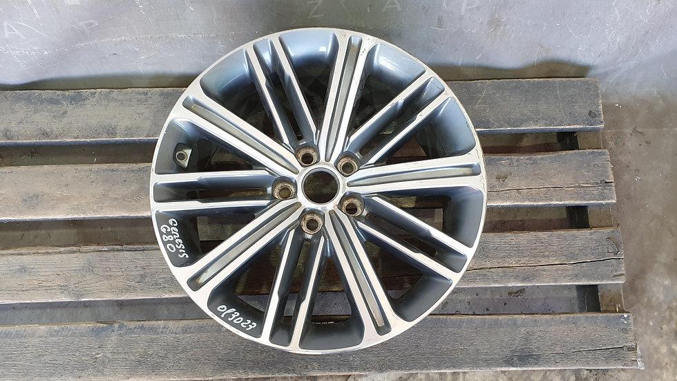 Genesis G80 Диск колесный литой R18 Б/У Оригинал