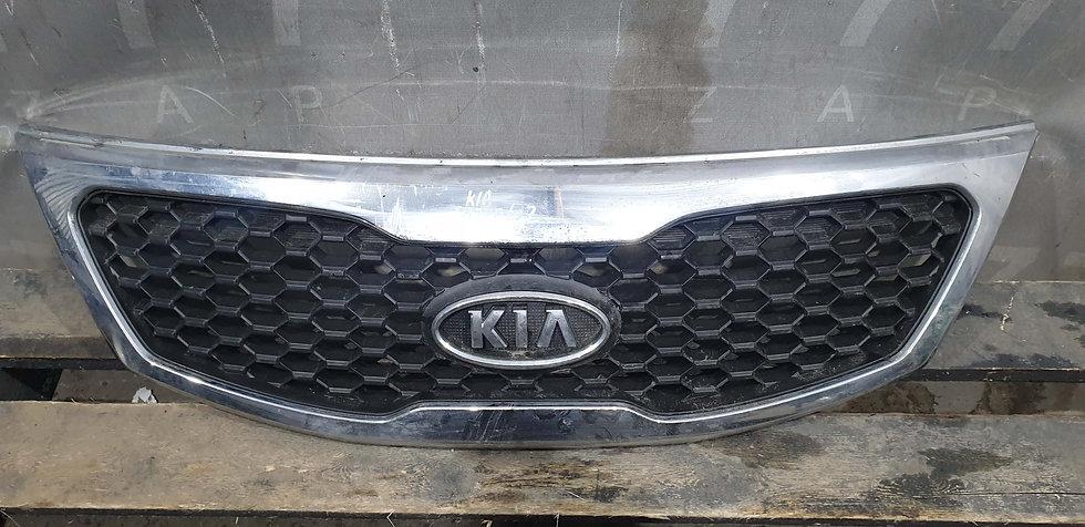 Kia Sorento 2 (XM) Решетка радиатора Б/у Оригинал