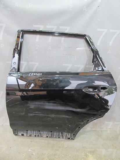 Hyundai Santa Fe 3 (DM) Дверь задняя левая Б/у Оригинал