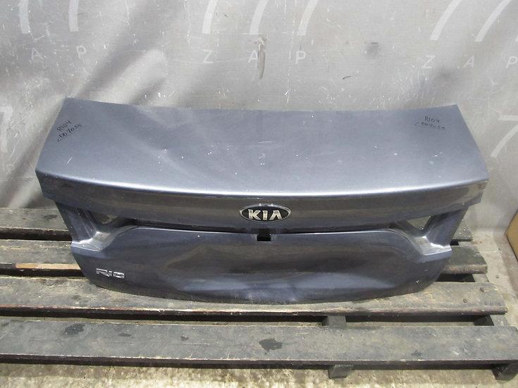 Kia Rio 4 (FB) 17- Крышка багажника  Б/у Оригинал