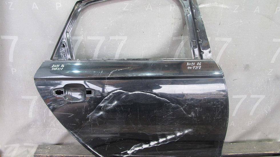 Audi A6 (С7) 11-18г Дверь задняя правая Б/у Оригинал