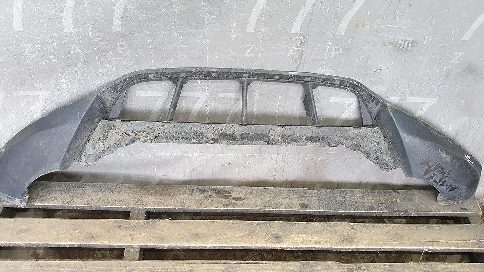 Volkswagen Tiguan 1 (07-11) Юбка переднего бампера Б/У Оригинал