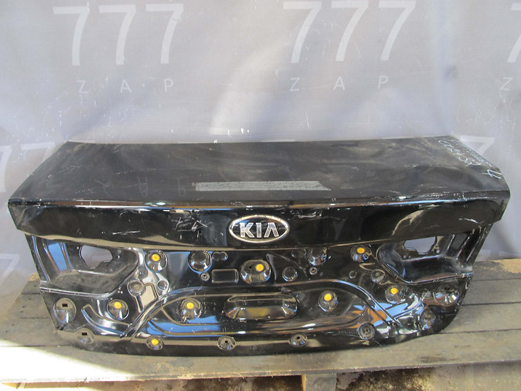 Kia Optima 4 (JF) 16- Крышка багажника  Б/у Оригинал