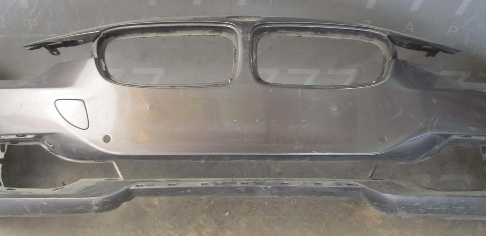 BMW 3-Series (F30) Бампер передний  Б/у Оригинал