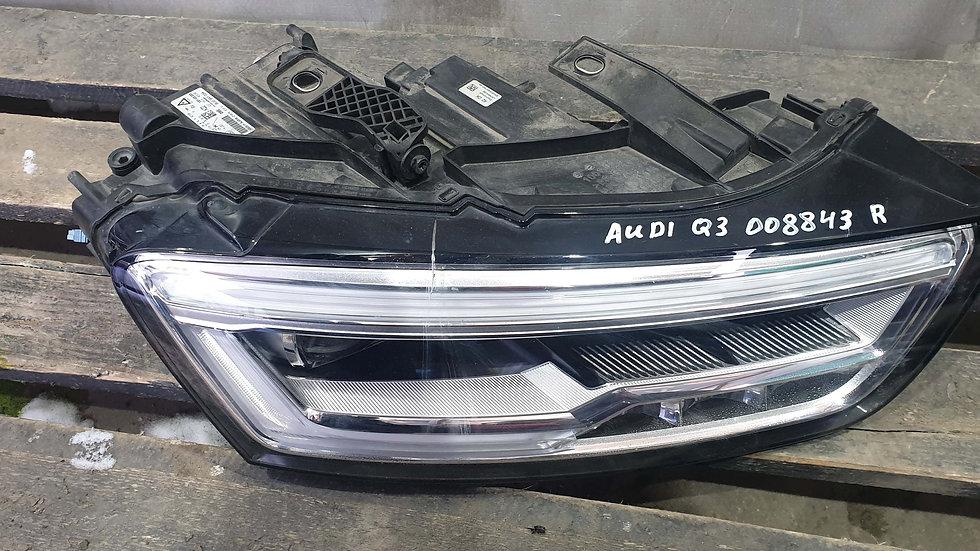 Audi Q3 1 (8U) 11-18 Фара правая LED Б/у Оригинал