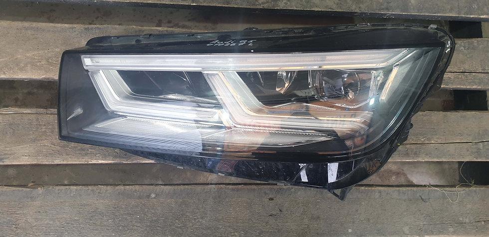 Audi Q5 2 (FY) 17- Фара левая LED Б/у Оригинал