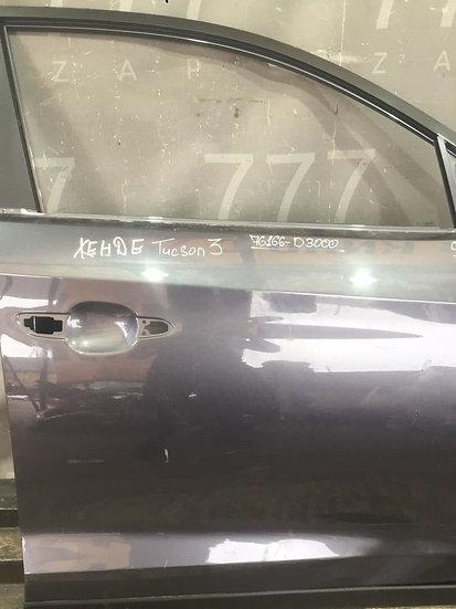 Hyundai Tucson 3 (TL) 15- Дверь передняя правая  Б/у Оригинал