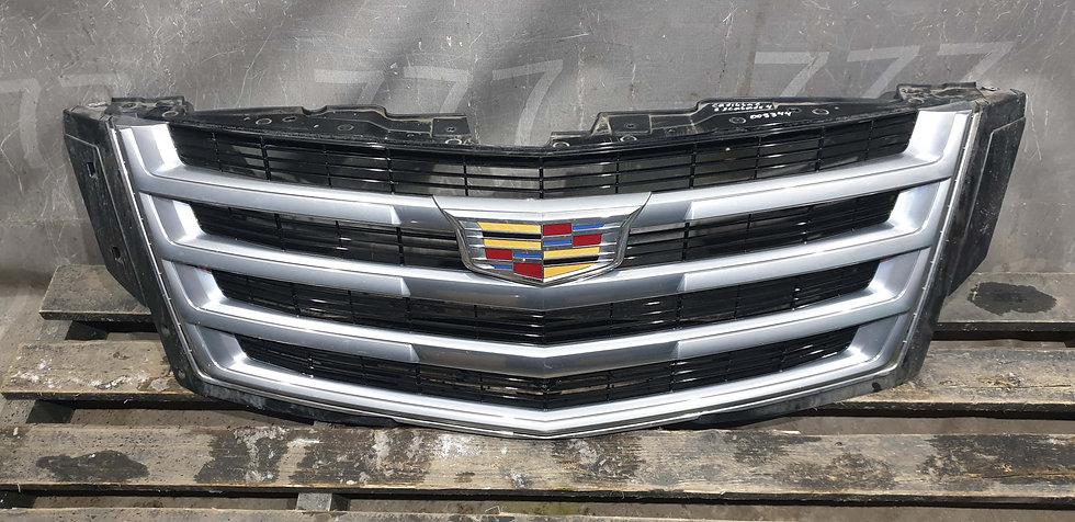 Cadillac Escalade 4 (14-) Решетка радиатора с камерой целая Б/у Оригинал