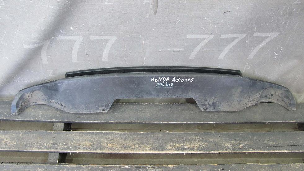 Honda Accord 9 (CR) Накладка заднего бампера Б/у Оригинал