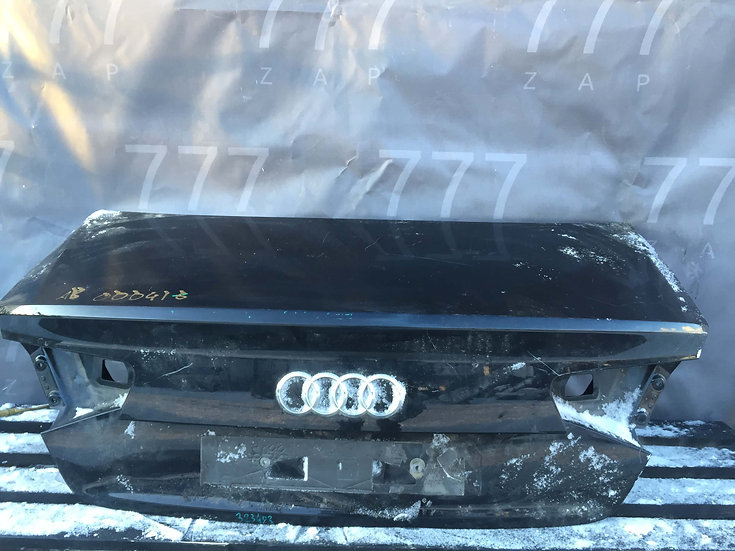 Audi A8 (D4) Крышка багажника Б/у Оригинал