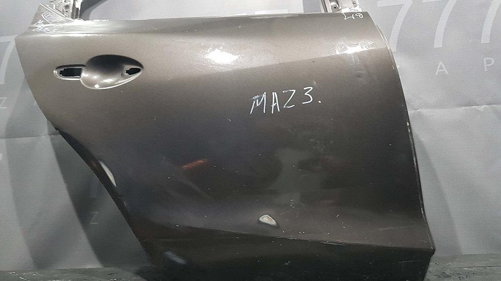 Mazda 3 (BM) дверь задняя правая Б/у Оригинал