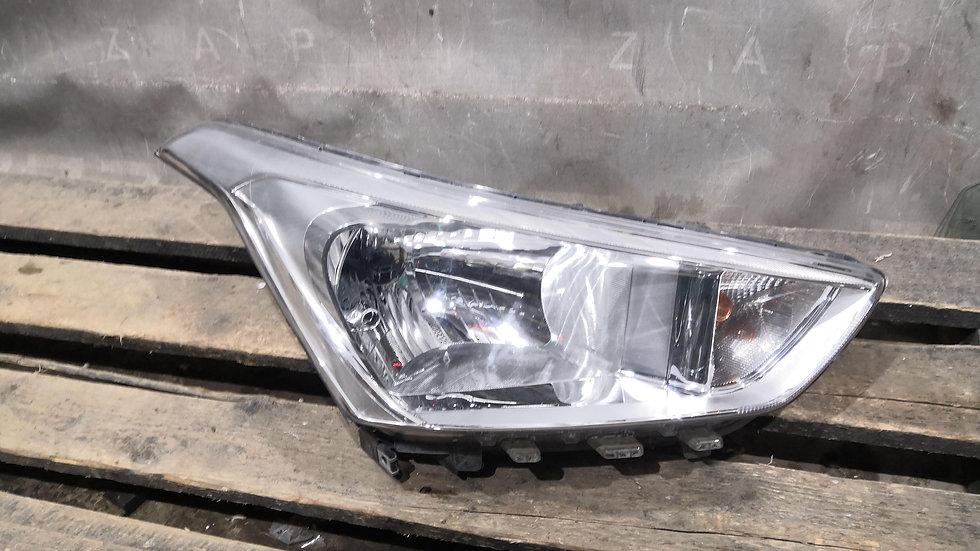 Фара правая галоген Hyundai Creta (GS) 16-  Б/У Оригинал