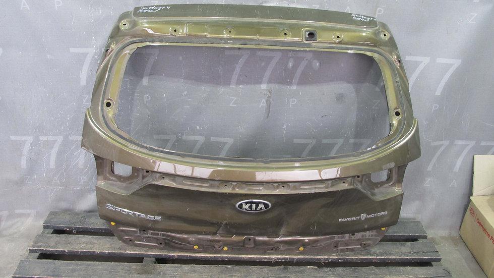 Kia Sportage 4 (QL) Крышка багажника Б/у Оригинал