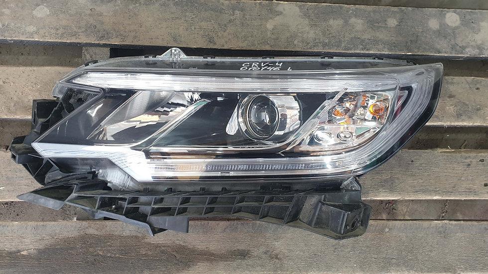 Фара левая ксенон Honda CRV 4 Рестайл 2014- целая