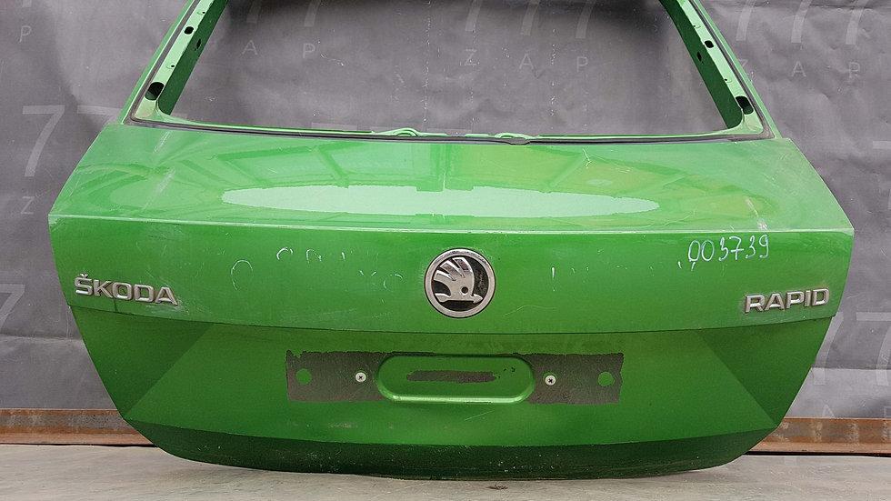 Skoda Rapid (NH3) Крышка багажника  Б/у Оригинал