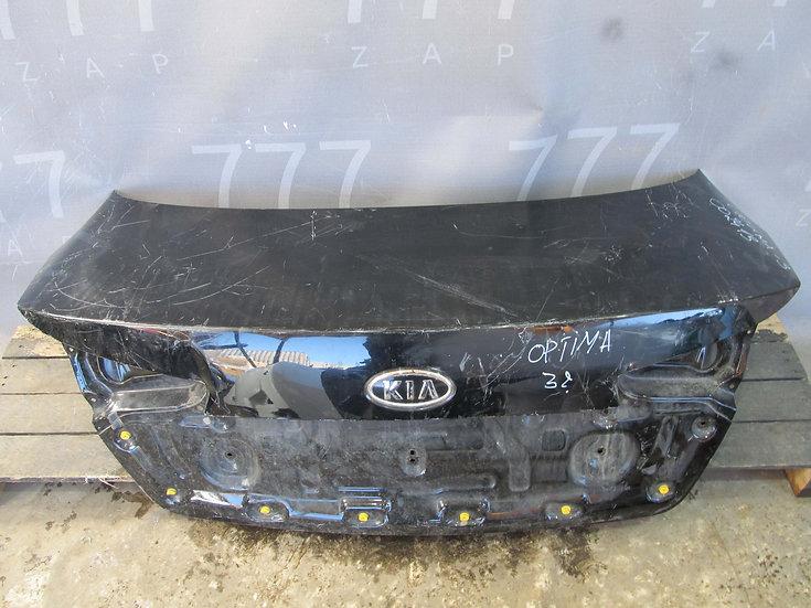 Kia Optima 3 (TF) 10-16 Крышка багажника  Б/у Оригинал
