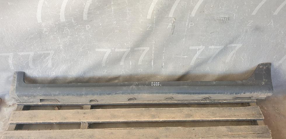 Kia Rio 4 (FB) X-Line 17- Накладка порога правого Б/У Оригинал