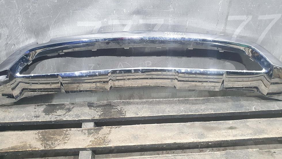 Mercedes GLE (W166) 15-18 Накладка переднего бампера Б/у Оригинал