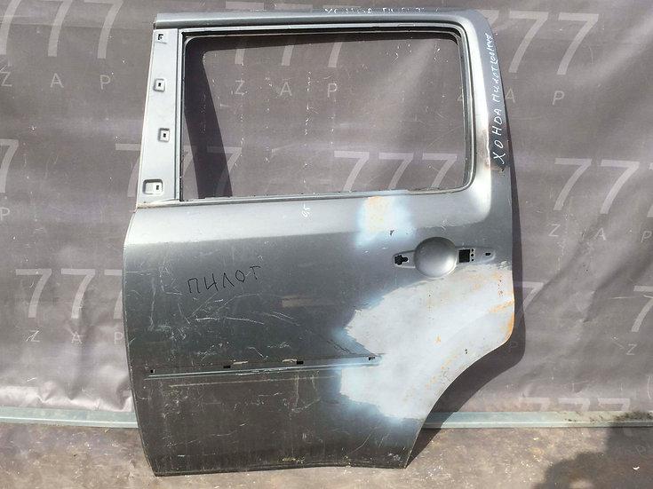 Honda Pilot 2 (YF4) 08-15 Дверь задняя левая  Б/у Оригинал